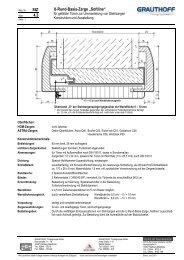 """StZ 4.3 U-Rund-Basis-Zarge """"Softline"""" - Grauthoff"""