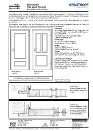 3.1 Wohnraumtür HGM Modell Romantik - Grauthoff