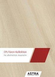 Die ASTRA CPL-Türen-Kollektion - Grauthoff