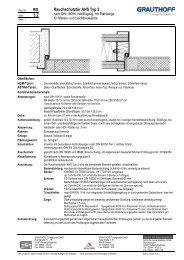 RD 3.2 Rauchschutztür AHS Typ 2 - Grauthoff