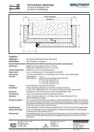 "StZ 2.8a Premium Klasse ""Block-Zarge"" - Grauthoff"
