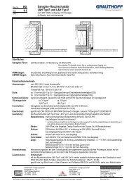 RD 4.1 Ganzglas- Rauchschutztür L&H Typ E und L&H ... - Grauthoff
