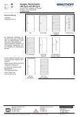 RD 4.1 Ganzglas- Rauchschutztür L&H Typ E und L&H ... - Grauthoff - Page 4