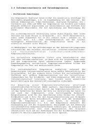 2.6 Informationstheorie und Datenkompression - Graviton