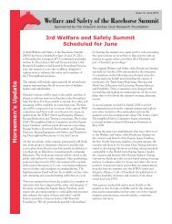 Issue 10 - June 2010 - Grayson-Jockey Club Research Foundation