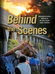 Behind the Scenes - Grayson-Jockey Club Research Foundation