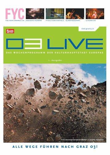 Ausgabe 01.qxd - Graz 2003
