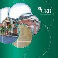 2012 Annual Report - Genesee Regional Bank