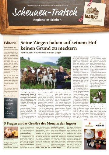 Scheunen-Tratsch - Ausgabe Januar / Februar 2014