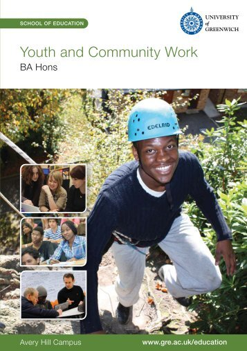 Youth and Community Work - University of Greenwich
