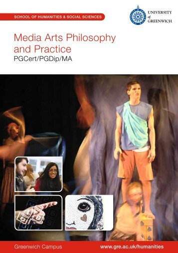 Media Arts Philosophy and Practice - University of Greenwich
