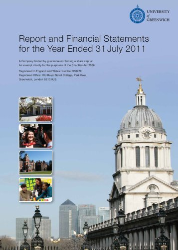 Report and Financial Statements for the year ended 31 July 2011