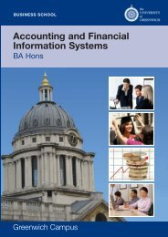 Accounting and Financial Information Systems - University of ...