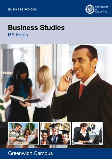 Business Studies - University of Greenwich