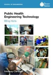 Public Health Engineering Technology - University of Greenwich