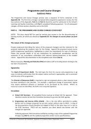 Guidance notes on completing D3 - University of Greenwich