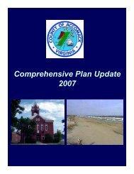 Comprehensive Plan Update 2007 - Greater Salisbury Committee