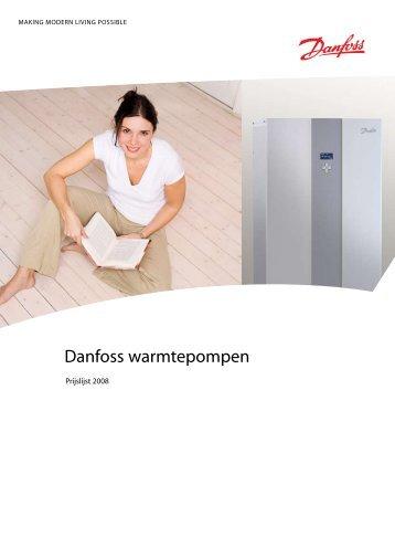 Danfoss warmtepompen - Fortes Import