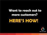 Online Advertising Options - Lake Taupo