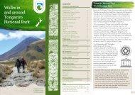 Walks in and around Tongariro National Park - Department of ...