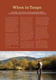 Richard Till's Article - Lake Taupo
