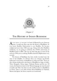 History of Buddhism in India and Tibet