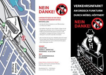NEIN DANKE! NEIN DANKE! - Bürgerinitiative Zwischen-den-Gleisen