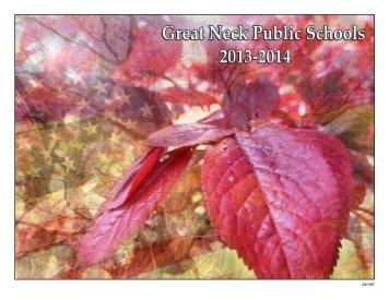 2013-2014 Text Pages - Great Neck Public Schools