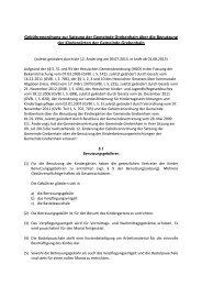 Gebuehrenordnung zur Kindergartensatzung - Grebenhain