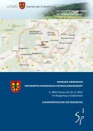 Ergebnisse 2. Forum - Grebenhain