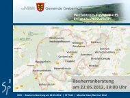 Information zur Förderung privater Maßnahmen ... - Grebenhain