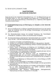 HAUPTSATZUNG der Gemeinde Grebenhain