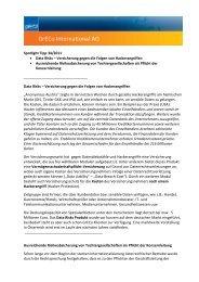 Spotlight Tipp 34/2011 Data Risks – Versicherung gegen ... - GrECo