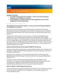 Spotlight Tipp 37/2012 Die richtige Versicherung für Ihre ... - GrECo