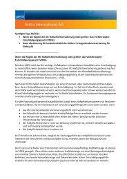 Spotlight Tipp 28/2011 Wenn die Regeln der Kfz ... - GrECo