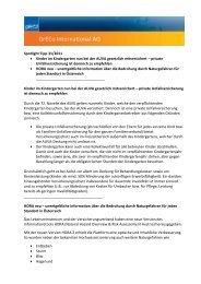 Spotlight Tipp 31/2011 Kinder im Kindergarten nun bei der ... - GrECo