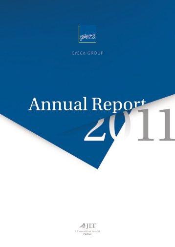 GRECO Annual Report 2011