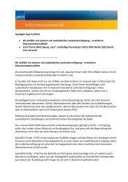 Spotlight Tipp 51/2013 • Kfz-Unfälle mit Lenkern mit ... - GrECo