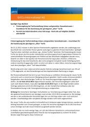 Spotlight Tipp 46/2012 • Fristenregelung bei ... - GrECo