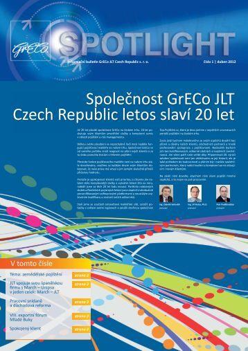 Spotlight jaro 2012 - GrECo