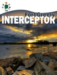 TOR - Fort Greely - U.S. Army