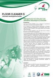 FLOOR CLEANER S - Green Care