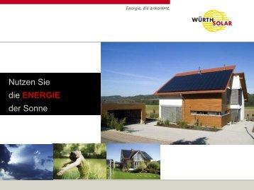 Photovoltaik - bei Green Terra