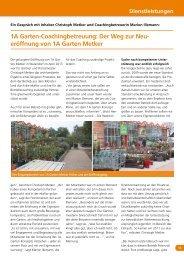 eröffnung von 1A Garten Metker - greenworks