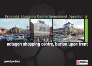 octagon shopping centre, burton upon trent - Green & Partners