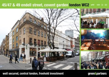 45/47 & 49 endell street, covent garden london wc2 - Green & Partners