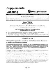 Supplemental Labeling - Greenbook.net