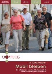 Mobil bleiben: Ein Leitfaden zur energieeffizienten - AENEAS