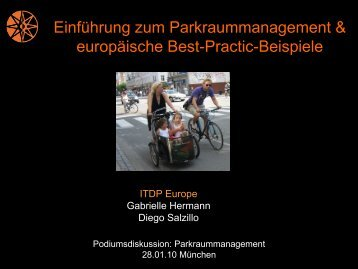 Best-Practic-Beispiele - Green City eV