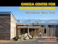 Omega Center for Sustainable Living - Green Design Etc
